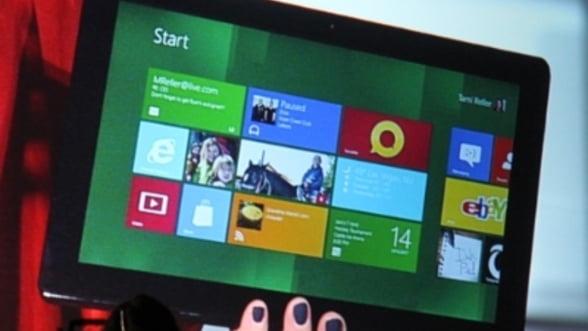 Noile tablete cu Windows 8, lansate in noiembrie