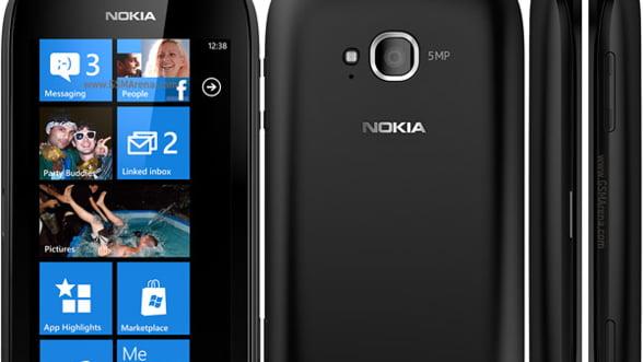 Nokia Lumia 710, la prima lansare comerciala