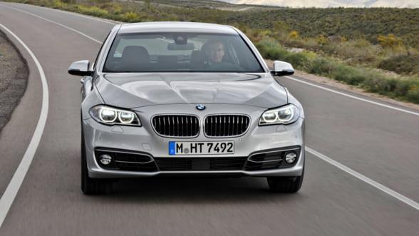 Noul BMW Seria 5 Luxury Line: N-ai cum sa-l ratezi!