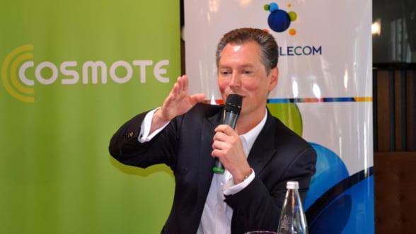 Noul CEO al Romtelecom si Cosmote: Integrarea si clientii business sunt obiectivele majore