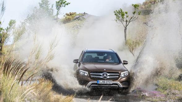 Noul Mercedes-Benz 2016 GLC uimeste de la prima aparitie