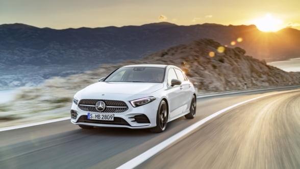 Noul Mercedes-Benz Clasa A se lanseaza si in Romania. Vezi cat costa si ce noutati aduce