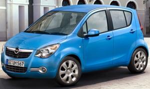 Noul Opel Agila este in Romania