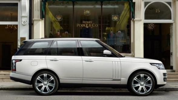 Noul Range Rover: Calatoreste ca la clasa I, intr-un SUV de lux