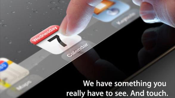 Noul iPad ar putea sa fie lansat saptamana viitoare