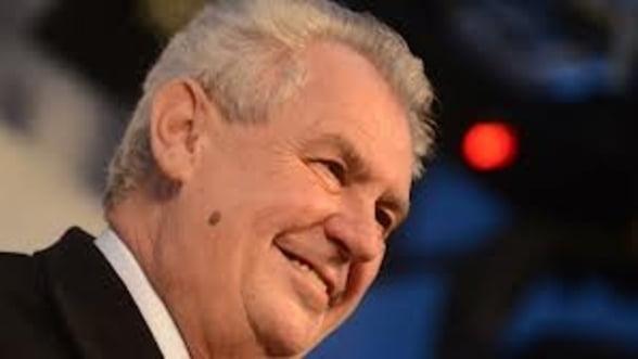 Noul presedinte al Cehiei doreste alegeri parlamentare anticipate