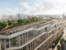 Noul sediu Google din Londra va avea gradina pe acoperis cu pista de alergare, piscina si terenuri de sport (Galerie foto)
