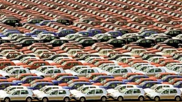 Numarul autoturismelor importate a urcat cu 85% in 2012. Volkswagen ramane lider