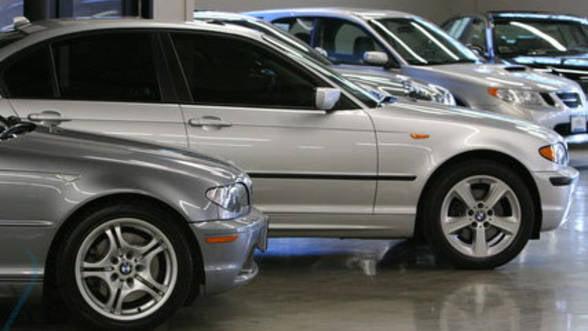 Numarul inmatricularilor de masini noi a scazut cu 4,16% in iulie
