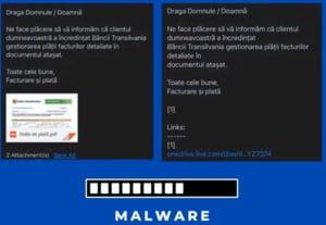 Numele unei importante bănci din România, folosit în atacuri cibernetice. Ce trebuie să faceți dacă primiți un astfel de mesaj