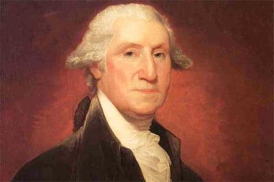 O carte a presedintelui George Washington, vanduta cu 9,8 mil. de dolari