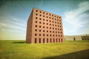 O cladire uluitoare, propusa ca cimitir al viitorului