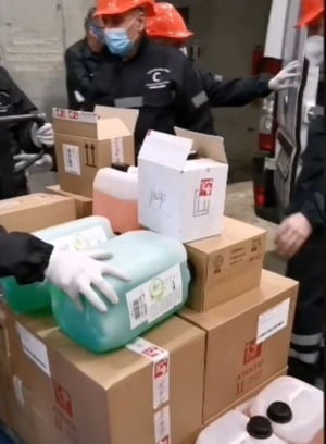 O fundatie a adus pe Arena Nationala produse in valoare de 430.000 de euro, care vor fi distribuite persoanelor aflate in carantina si personalului medical
