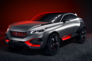 O masina hibrid unica, pregatita de Peugeot