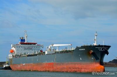 O nava incarcata cu motorina din SUA este in drum spre portul Constanta
