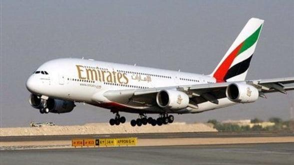 O noua companie aeriana in Romania: Emirates Airline va incepe sa opereze din acest an