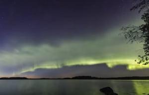 O noua forma de aurora boreala, descoperita de pasionati si cercetatori finlandezi (Video)