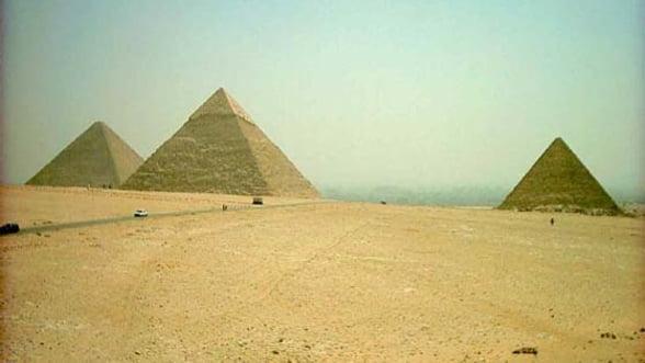 O noua piramida a fost descoperita in sudul Egiptului