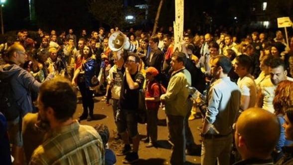O saptamana de proteste Rosia Montana. Manifestatiile castiga in intensitate