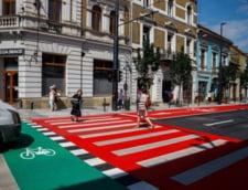 O strada din centrul Clujului, reabilitata cu 5 milioane de euro, bani primiti de la UE