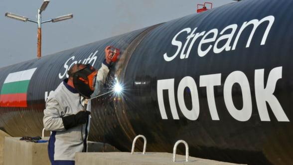 OMV: Divergentele dintre Rusia si UE nu vor afecta gazoductul South Stream