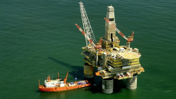 OMV Petrom si americanii de la ExxonMobil vor extrage 6 miliarde de metri cubi de gaze pe an din Marea Neagra