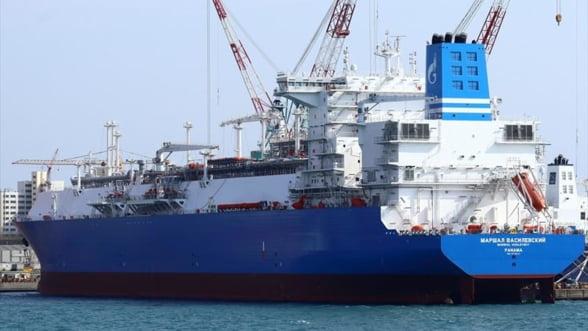 OMV a inchiriat de la Gazprom o platforma speciala pentru gaze naturale si o tine la ancora langa Rotterdam