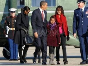 Obama, in vacanta la Martha's Vineyard