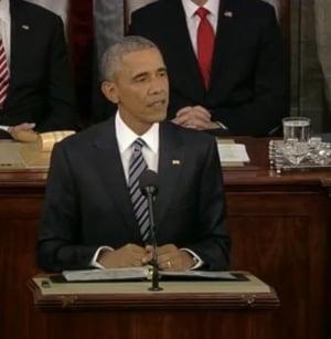 Obama, ultimul discurs despre starea natiunii: Statul Islamic si frica indusa de Trump americanilor