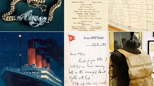 Obiectele recuperate de pe Titanic, vedetele licitatiilor