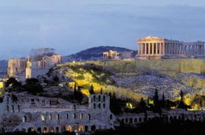 Obiective turistice închise la Atena, în urma celei mai mari canicule din ultimii 30 de ani