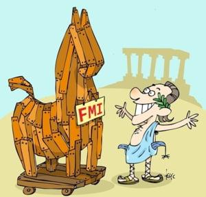 Oferta FMI pentru greci: O noua stergere a datoriei inainte de alegeri daca...