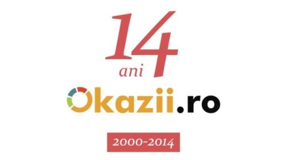 Okazii.ro implineste 14 ani de activitate