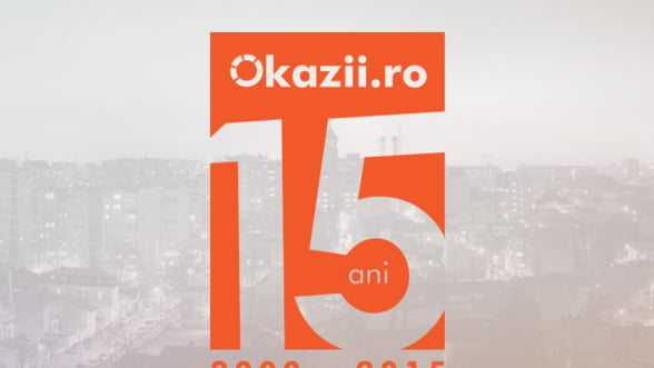 Okazii.ro sarbatoreste 15 ani de activitate