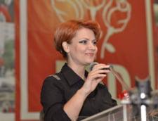 Olguta Vasilescu: Exista riscul de a nu se mai putea plati deloc sporurile in aprilie
