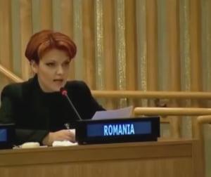Olguta Vasilescu, dupa ce engleza sa de la ONU a devenit viral: M-am prezentat decent, maine voi vorbi in franceza!