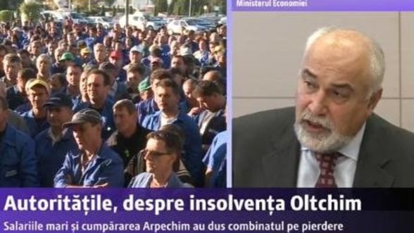 Oltchim: Bogdan Nicolae Stanescu va fi administrator special