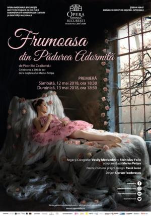 """Opera Nationala Bucuresti prezinta premiera de balet """"Frumoasa din Padurea Adormita"""""""