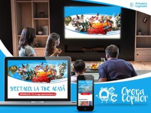 Opera comica pentru copii a lansat aplicatia prin care te poti abona la spectacole online