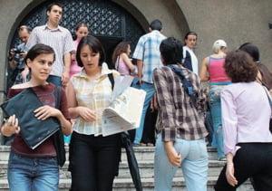 Optimisul studentilor privind oportunitatile de cariera, in crestere fata de 2007