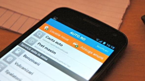 Optiuni noi pentru aplicatia Auto.ro