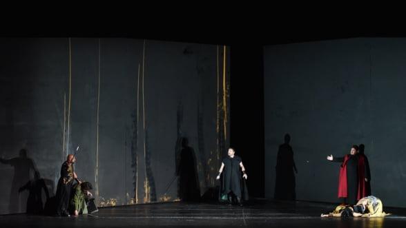 Otello, in regia lui Giancarlo del Monaco, pe scena Operei Nationale Bucuresti in luna februarie