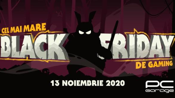 PC Garage anunta cel mai mare Black Friday de Gaming