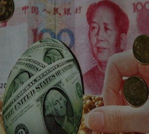 PICATURA CHINEZEASCA: China isi lasa moneda sa se aprecieze