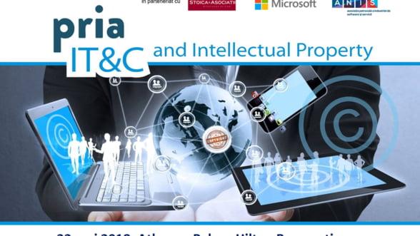 PRIA IT&C and Intellectual Property informeaza dezvoltatorii de software si aplicatii despre importanta protectiei investitiilor si ideilor lor in 22 mai 2018 la Bucuresti