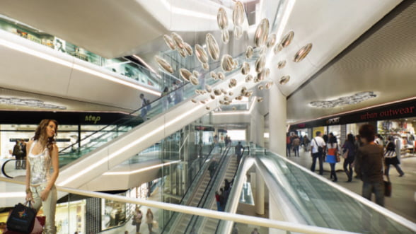 PROMENADA in interiorul celui mai asteptat mall din Romania (Galerie Foto)