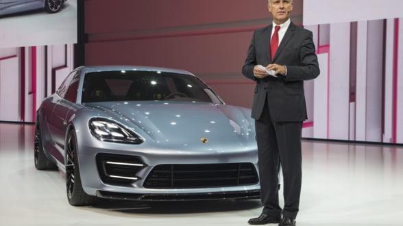 Panamera Sport Turismo: Porsche iti arata hibridul viitorului