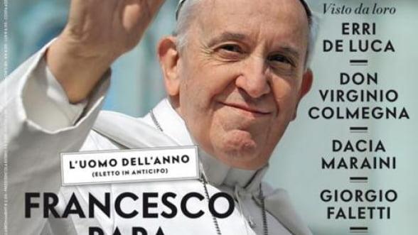 "Papa Francisc, desemnat ""omul anului"" de revista Vanity Fair"