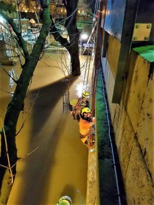 """Parisul se teme de """"inundatia secolului"""". Nivelul Senei ar putea ajunge triplu fata de normal (Video)"""