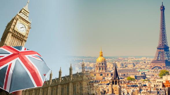 Parisul se transforma in puntea de legatura a Londrei cu Europa parasita prin Brexit